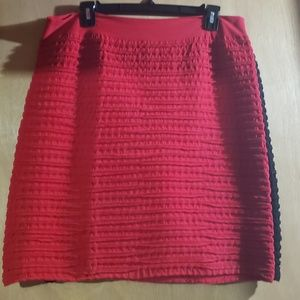 Icon ribbed stretch mini skirts